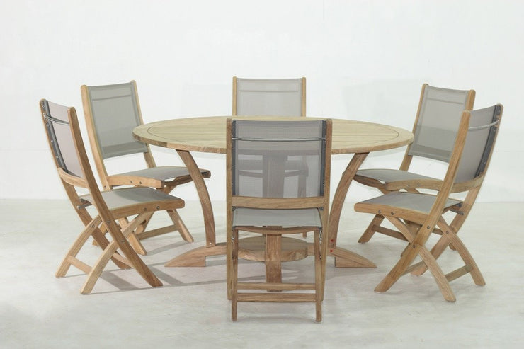 Newport Table Set 7PC - Toms Outdoor Furniture