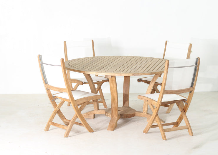 Newport Table Set 5PC - Toms Outdoor Furniture