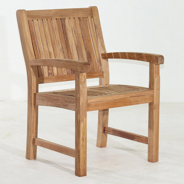 Awesome Marley Teak Arm Chair Pabps2019 Chair Design Images Pabps2019Com