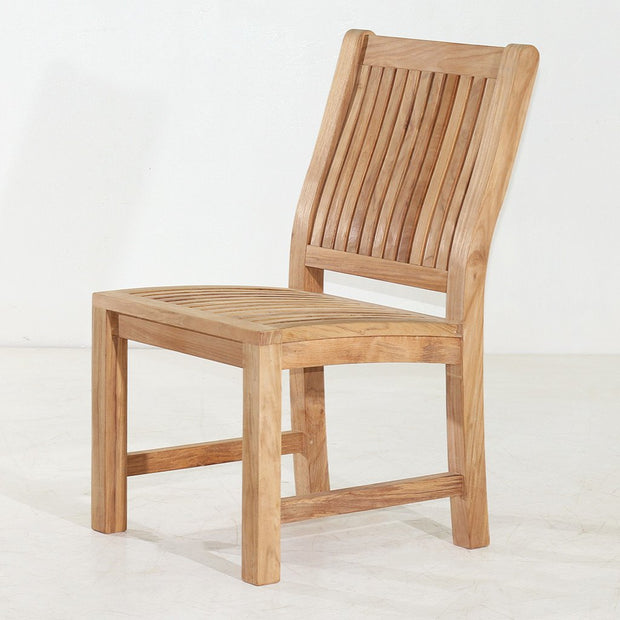 Marley Teak Side Chair - Toms Outdoor Furniture