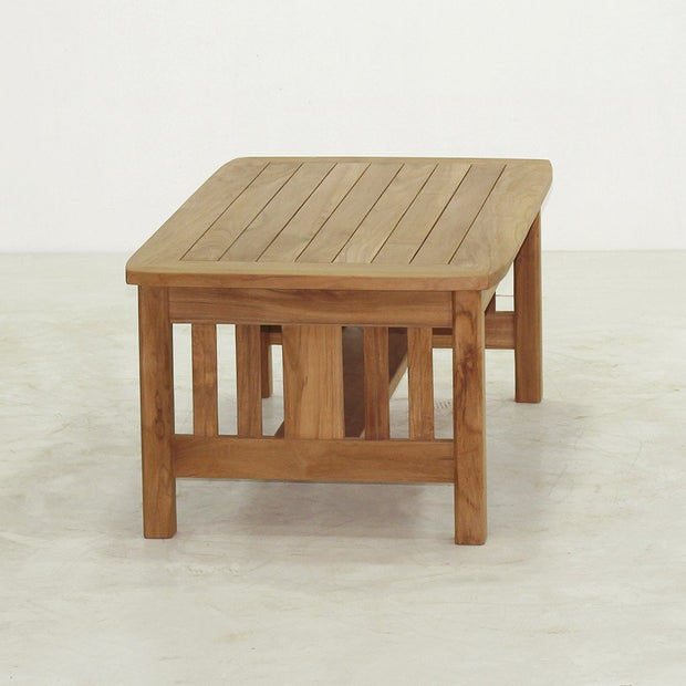 Mission Coffee Table - Toms Outdoor Furniture