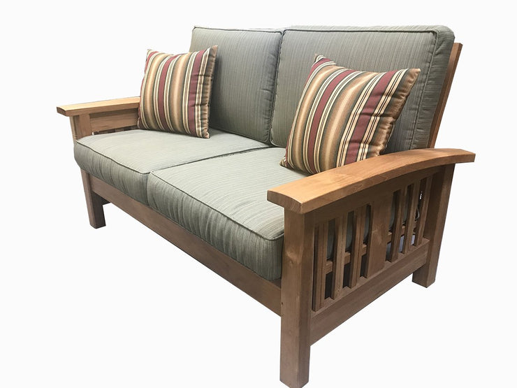 Mission Deep Seating Love Seat - Toms Outdoor Furniture