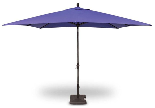 Rectangle Market Umbrella 8f X 10f - Toms Outdoor Furniture