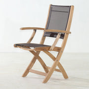 Batyline Folding Arm Chair - Toms Outdoor Furniture