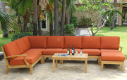Classic Deep Seating Sectional Sofa Set - Toms Outdoor Furniture