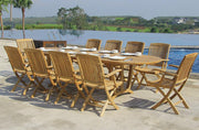 Cambria Extension Table set - Toms Outdoor Furniture
