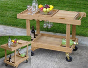Teak Serving Cart - Toms Outdoor Furniture