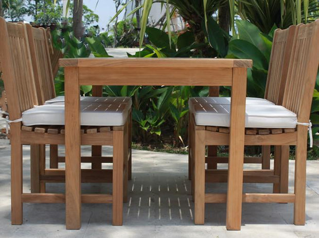 Classic Teak Side Chair - Toms Outdoor Furniture