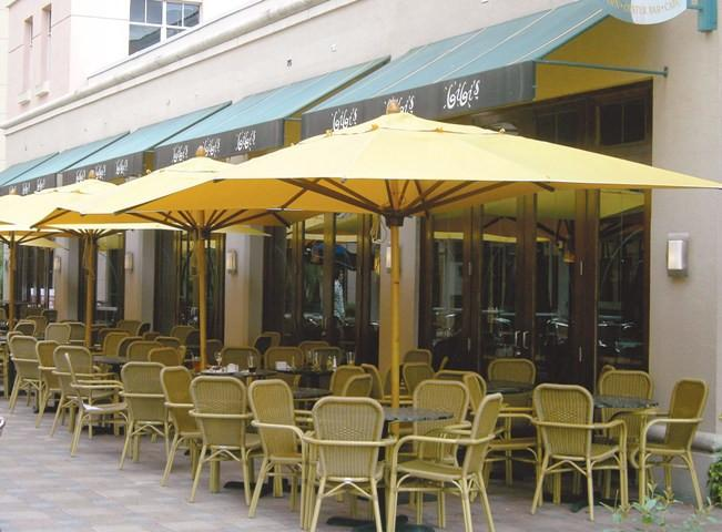 Commercial Rectangular Umbrella 13x10f - Toms Outdoor Furniture