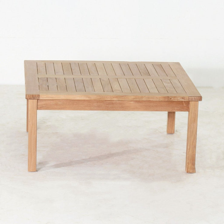 Teak Square Coffee Table - Toms Outdoor Furniture