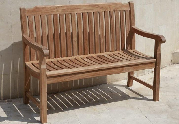 Deluxe Teak Bench 4f - Toms Outdoor Furniture