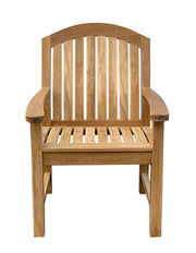 Glaser Teak  Arm Chair - Toms Outdoor Furniture