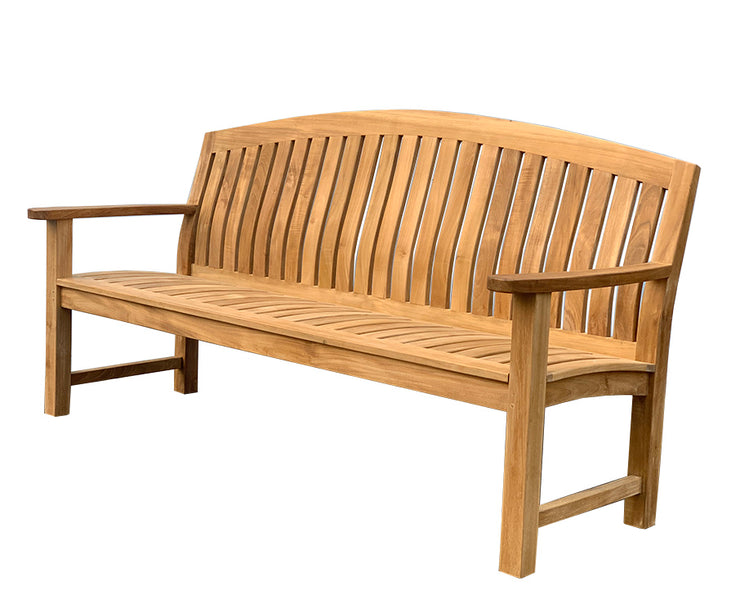 Glaser Teak Bench 6f - Toms Outdoor Furniture
