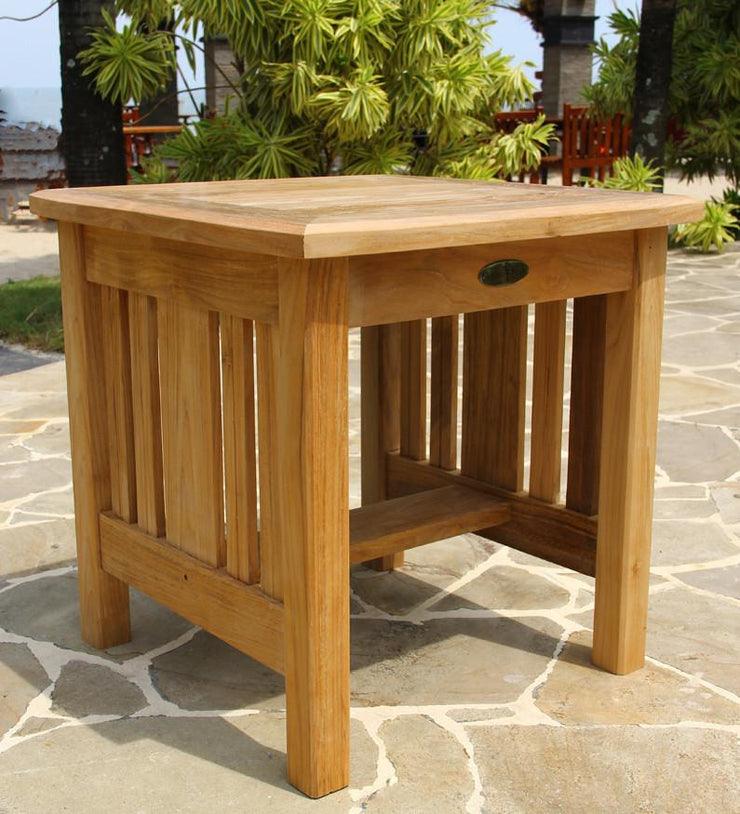 Mission End Table - Toms Outdoor Furniture