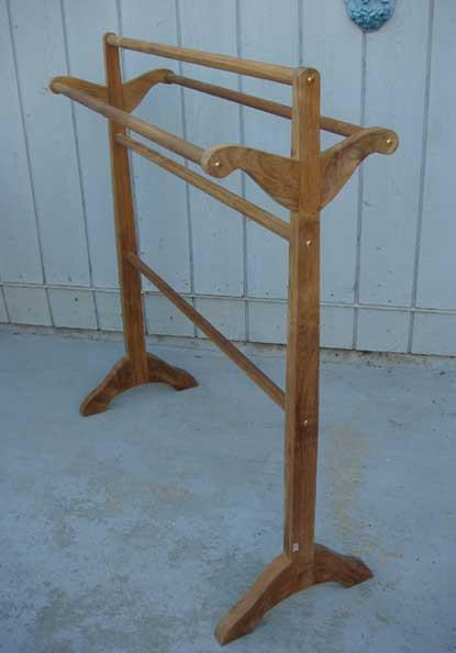 Teak Towel Rack - Toms Outdoor Furniture