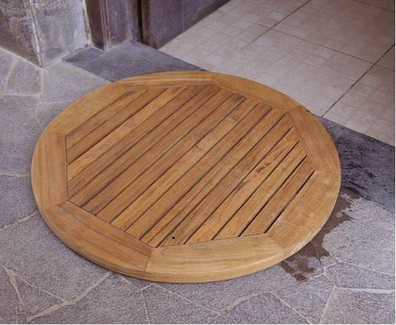 Shower Mat Round - Toms Outdoor Furniture