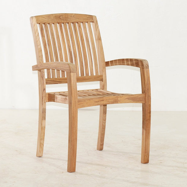 Marley  Stacking Chairs (Set of 4) - Toms Outdoor Furniture