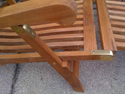 Captain Teak Steamer - Toms Outdoor Furniture