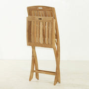 Stinson Folding Teak Side Chair - Toms Outdoor Furniture