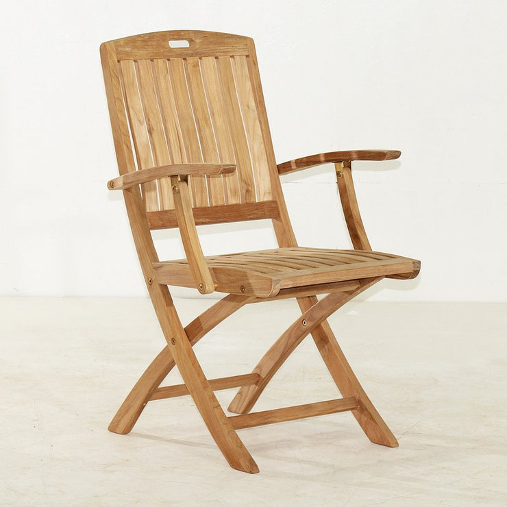 Stinson Folding Arm Chair - Toms Outdoor Furniture