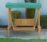 Teak Swing - Toms Outdoor Furniture