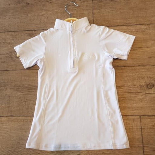 Kiddies Short Sleeve Show Shirt White