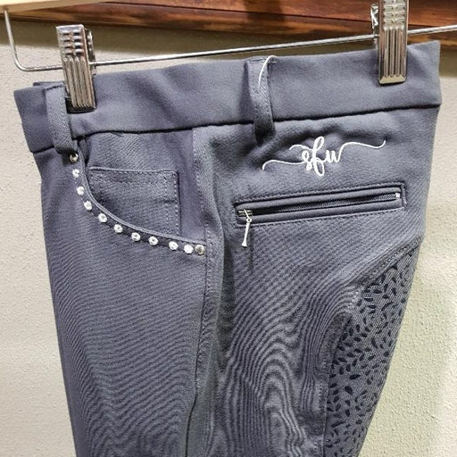 Breeches with Diamante