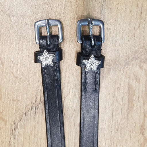 Star Spur Straps Black