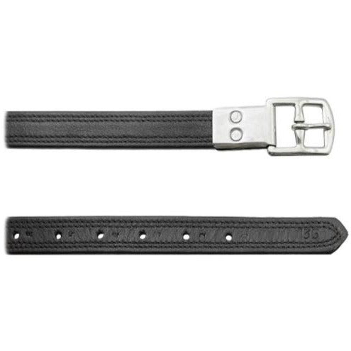 Soft Stirrup Leathers with Nylon Reinforcement 145cm
