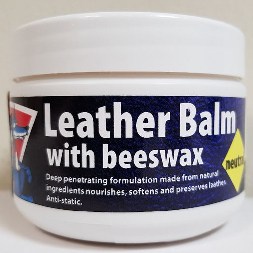 Leather Balm with beeswax