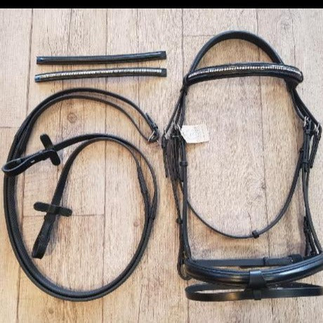 Bridle with 3 Interchangeable Brow Bands
