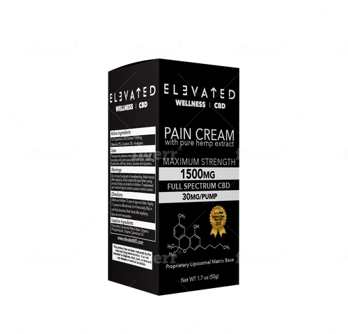 Elevated Wellness Pain Cream 1500mg