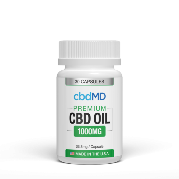 cbdMD Capsules - Elevated Wellness LLC