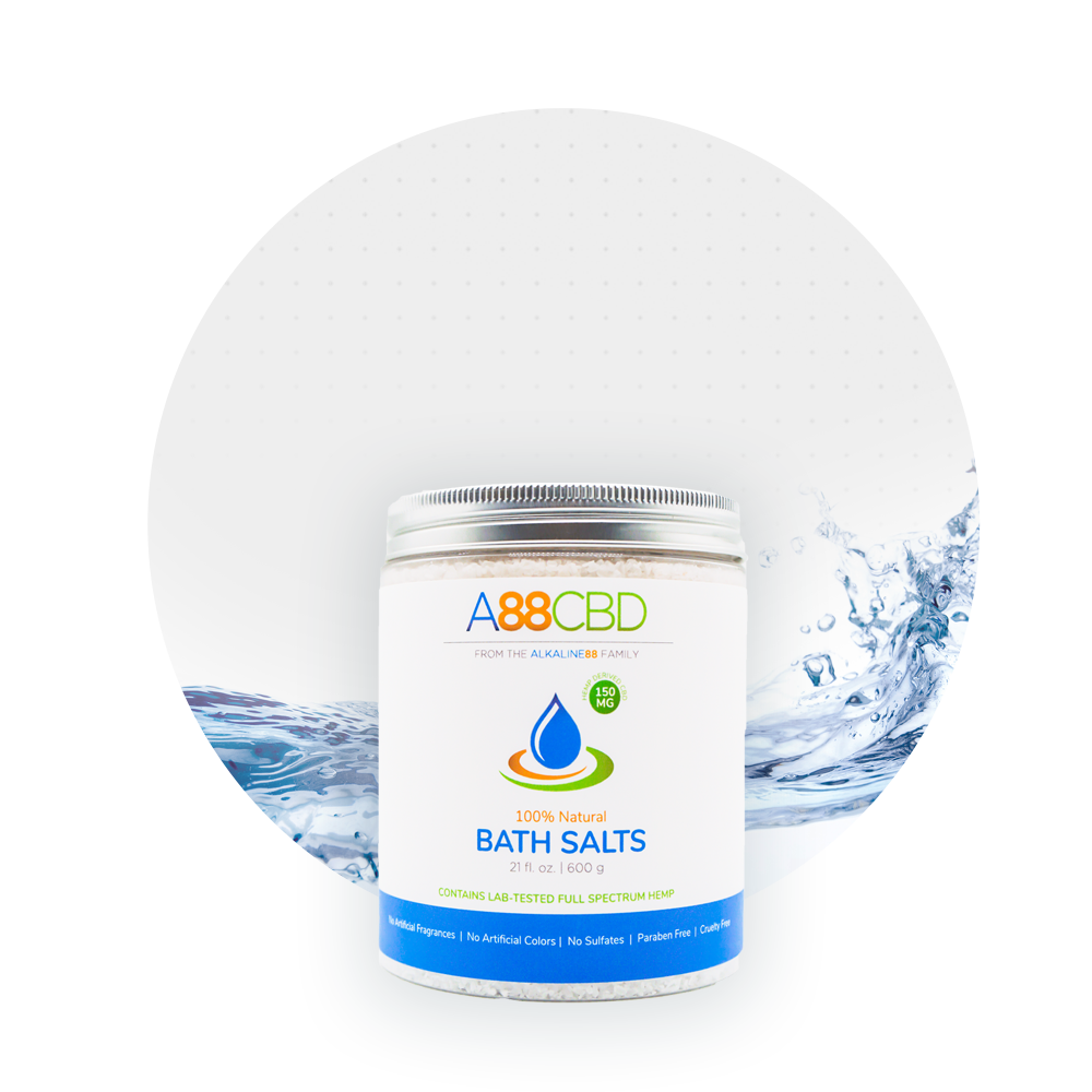 A88CBD - CBD Bath Salts - 150mg
