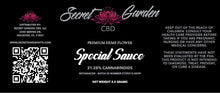 Load image into Gallery viewer, Secret Garden CBD - Special Sauce 3.5 Gram