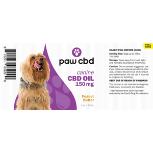 Paw CBD - Canine cbd oil - Elevated Wellness LLC