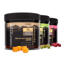 Load image into Gallery viewer, Charoltte's Web - Full Spectum Gummies 3-Pack - Elevated Wellness LLC