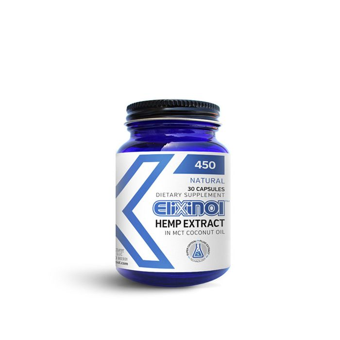 Elixinol - Capsules - Elevated Wellness LLC