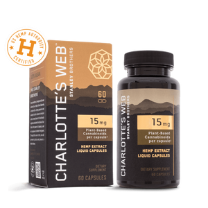 Charlotte's Web - CBD Capsules - Elevated Wellness LLC