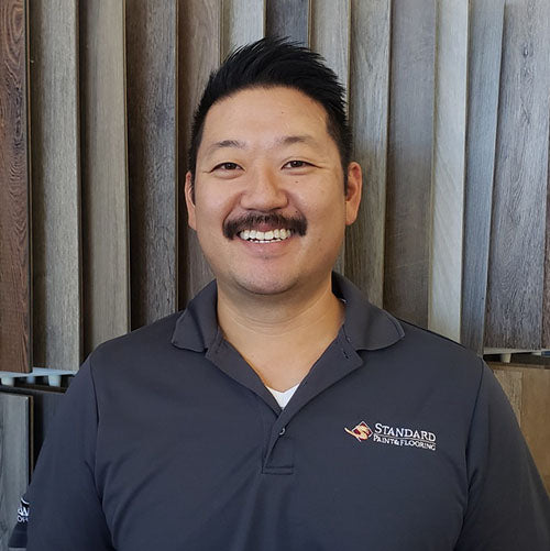 Jason Lee at Standard Paint & Flooring's Bend, OR location.