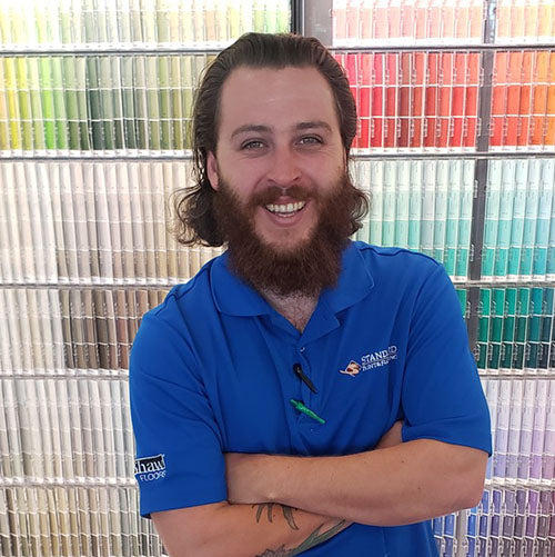 Mike Deoirio at Standard Paint & Flooring's Bend, OR location.