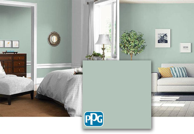PPG1135-4 Aquamarine Dream paint color