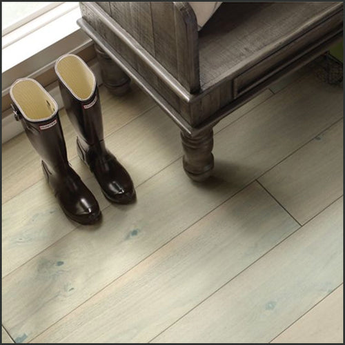 Shaw Floors Exquisite Hardwood in Alabaster Walnut, available at Standard Paint & Flooring.