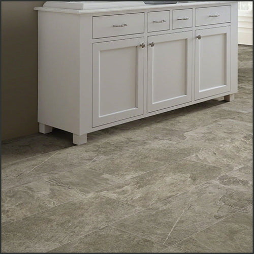 Shaw Ceramic Solutions Tile in Taupe, available at Standard Paint & Flooring.