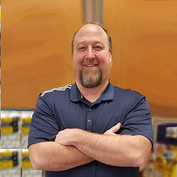 Rich Oldham smiling at Standard Paint & Flooring in Richland, WA location.