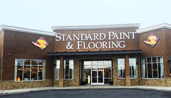 Standard Paint & Flooring West Valley Yakima storefront.