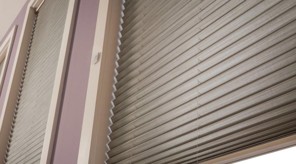 Graber Pleated Shades at Standard Paint & Flooring