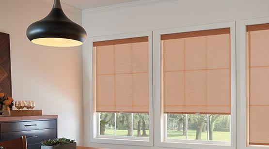 Graber Roller Shades avaialable at Standard Paint & Flooring