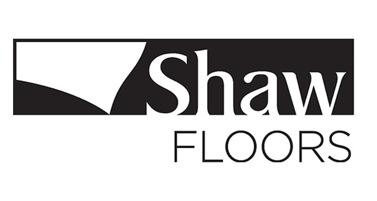 Shaw Floors logo, available at Standard Paint & Flooring in Washington State and Oregon.