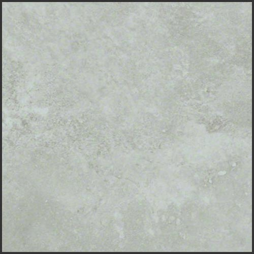 Close up of a light grey swatch of vinyl flooring by Shaw Floors.